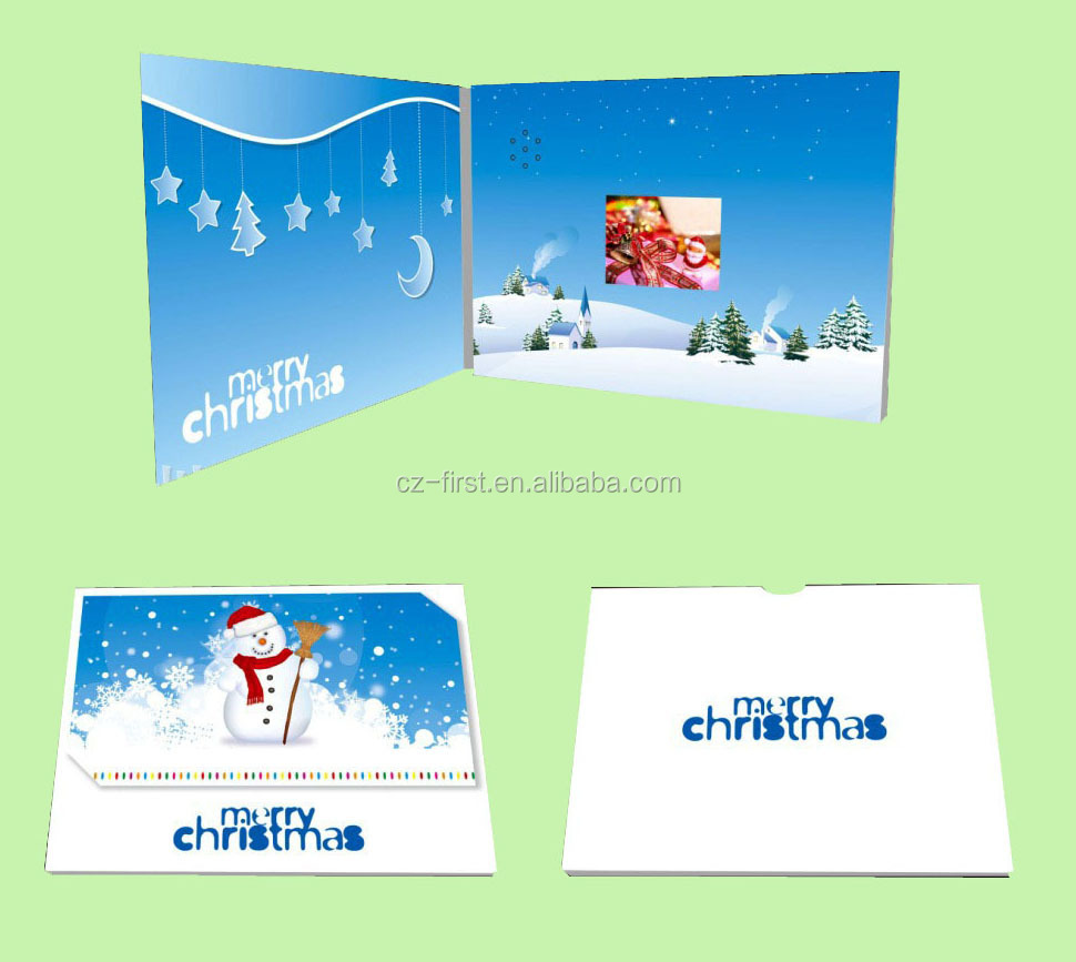 2015 NEWEST Christmas Video Greeting Cards