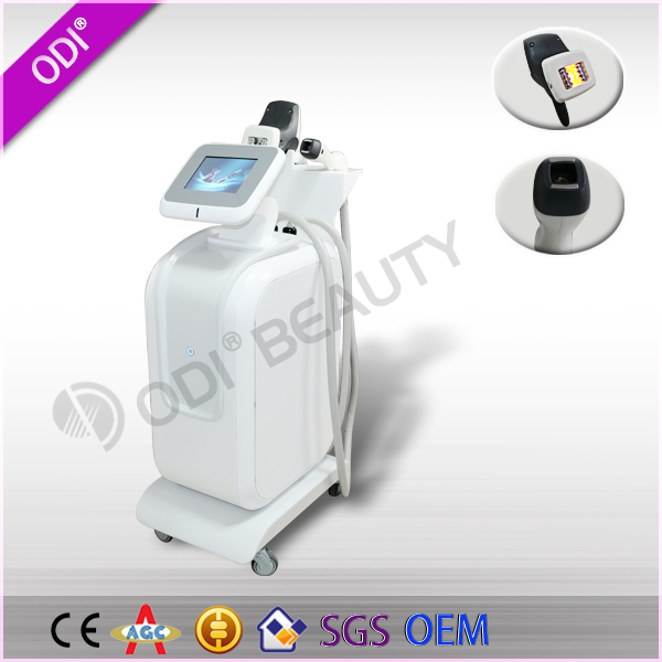 Newest ultrasonic therapy cellulite machine face tripolares 2015 used shaper machines