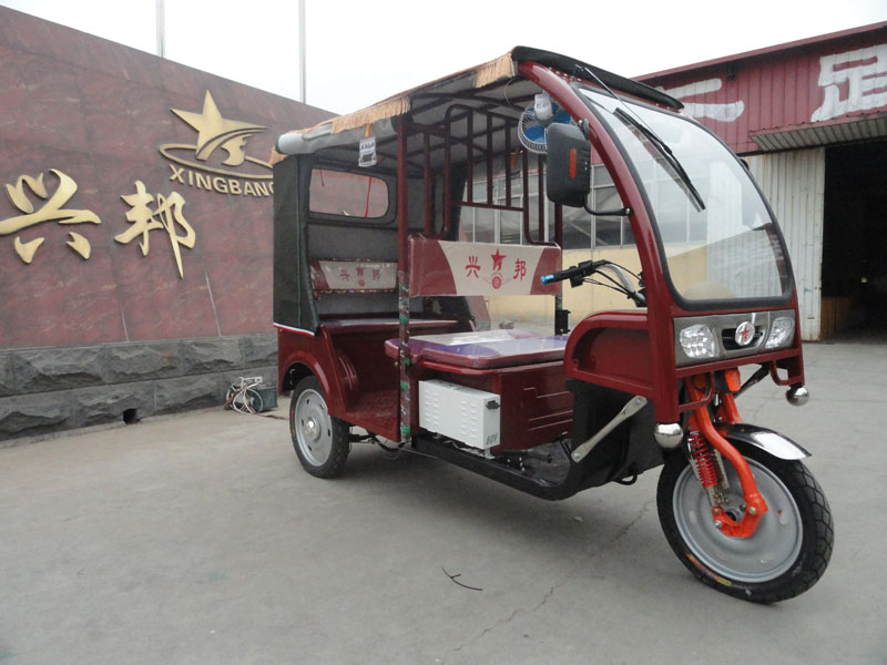 xingbang brand new borac/strong front fernder electric tricycle model