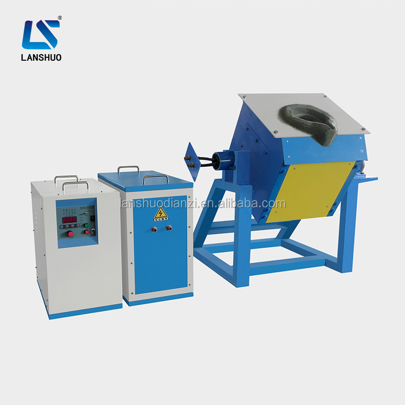 2017 hot sale industrial electric induction aluminum ingot melt furnace