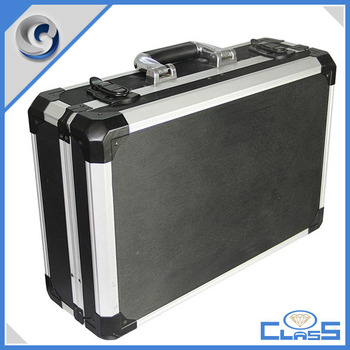 Black High-quality Tools Storage Aluminum Box with heavy duty