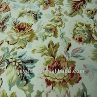 100% polyester chenille printing furnitur fabric
