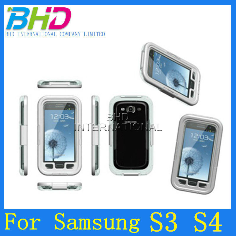 High quality waterproof case for Samsung Galaxy i9300 i9500 S3 S4