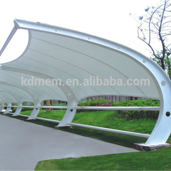 Car Parking Shed Tensile Fabric Structure rooftop tent