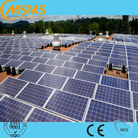 PV solar flat roof mounting system 1KW photovoltaic panel mounting systems for solar racking system