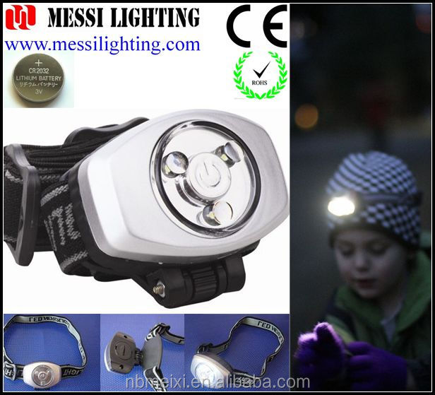 Suit for children safety 3LED MINI Headlamp