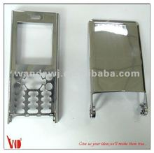 Chrome painted die-casting zinc alloy cell phone housing