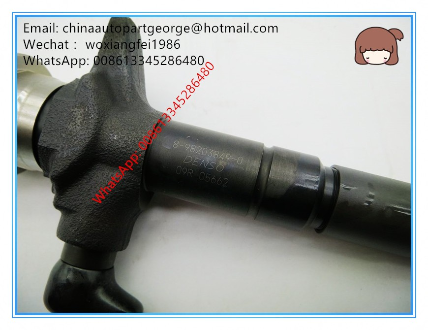 Original and new I/SUZU D-Max 4JJ1 fuel injector 8982038490, 8981192270, 8-98203849-0, 8-98119227-0