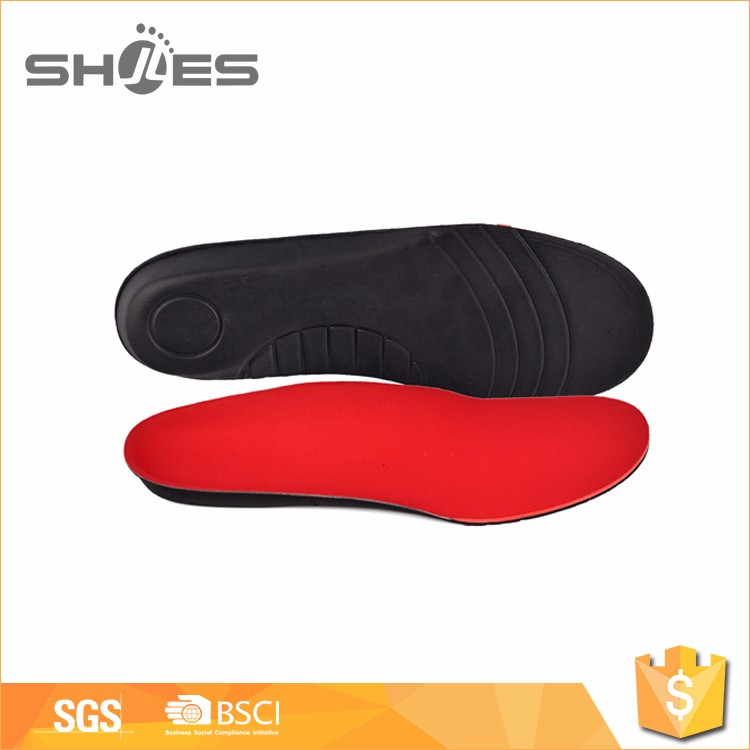 Most popular custom design red EVA shoe insole with good prices