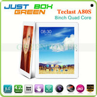 Teclast A80S Android 4.2 Jelly Bean Allwinner Quad core 8 inch Capacitive Touch Screen 1GB/16GB WIFI super smart tablet pc