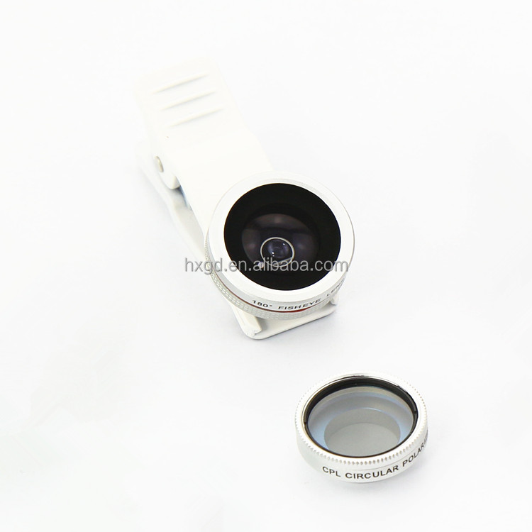 camera lens kits smartphone fish eye lens cpl glass lens for iphone