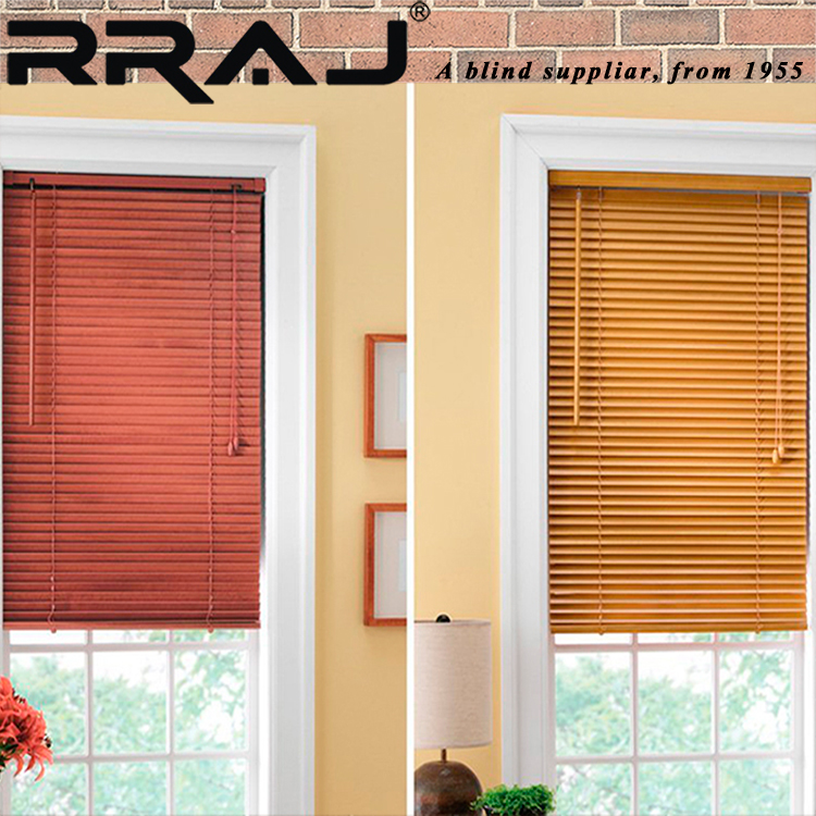 RRAJ Electric Wood Venetian Blind with Parts