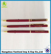 best sell promotional metal gift pen for promotion from pen factory