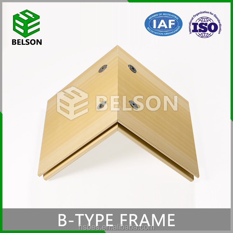 China Local Factory Laminated WPC Door Frame