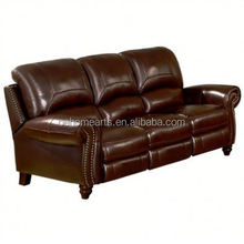 SFL00010 New Arrival!!! China Manufacturer standard size display home leather sofa furniture for sale