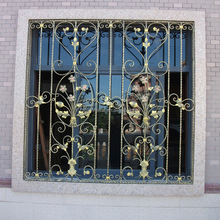 China factory sale french decorative metal steel window grill design