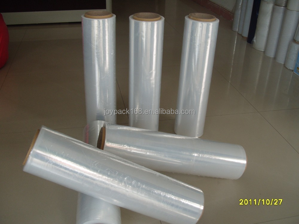 china distributor clear plastic film protective pallet stretch wrap pe stretch film