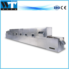 High efficient green leaf industrial microwave oven tunnel microwave dryer