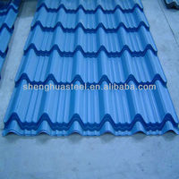 Corrugated Steel Sheet/Corrugated Roof Tile/Roof Tiles Prices