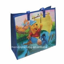 Promotional PP woven shopping bag