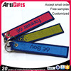 New product customized remove before flight keyring