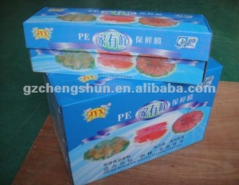 Professional best fresh PE cling film and kitchen cling wrap film