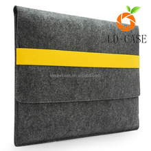 new unique hot sell handmade fashion polyester laptop felt phone case