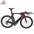 Colorful Painting carbon frame triathlon with full Hidden Cables routing carbon tt bike frame TT01