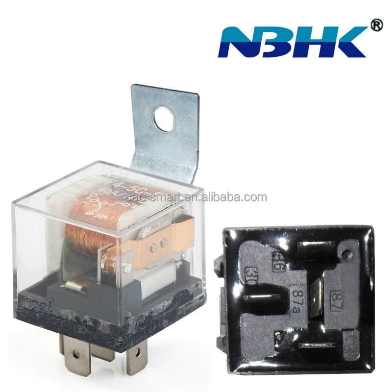 Universal Auto Relay 4pins 12V 40A with LED Light