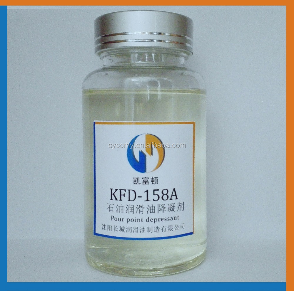 KFD-158A Good effect of reducing coagulation lubricant oil additives pour point depressant