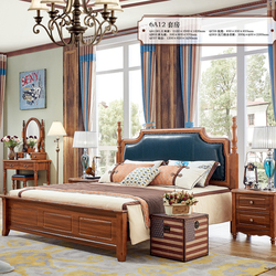 Luxury bedroom furniture king size upholstered wooden bed price images
