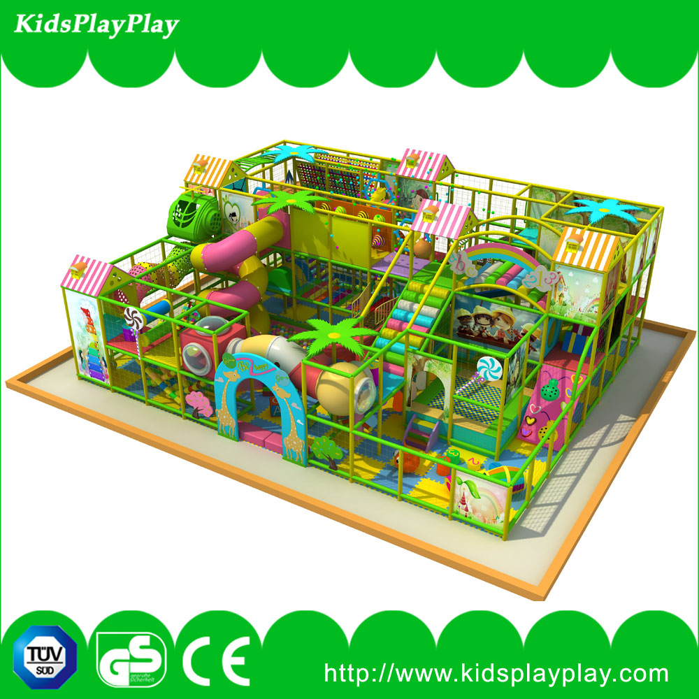 2016 Pure and fresh garden series indoor playground equipment