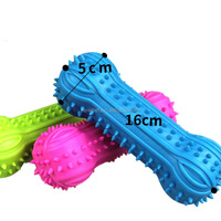 Service supremacy newly design bone shaped pet ball giggling dog toy
