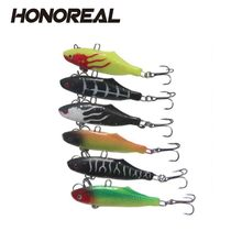 VIB Type Artificial Bait Fishing Lure Soft Vibe Bait