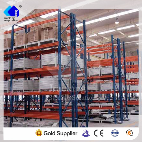 Jracking walmart shelf metal storage shelves ISO9001 certified pallet racking