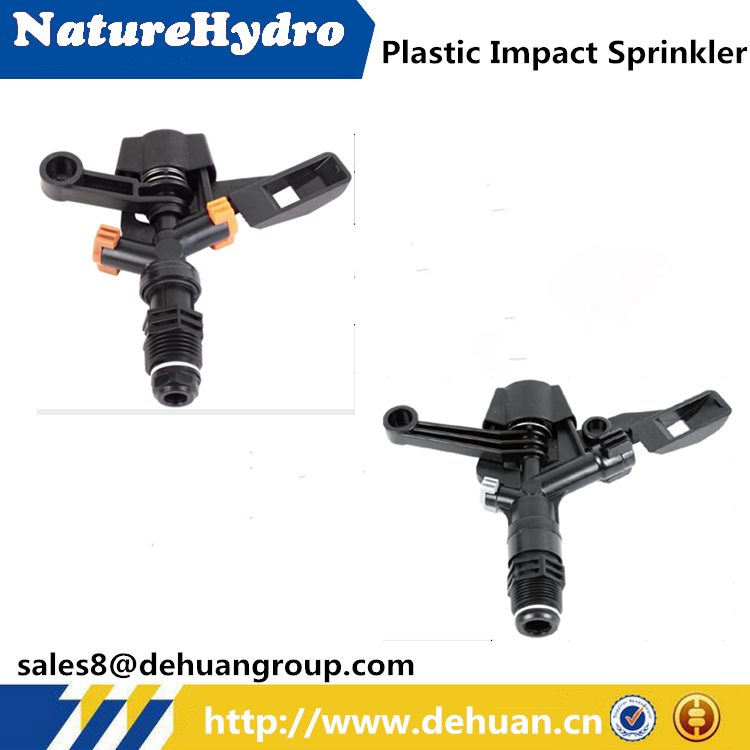 Farm Irrigation Sprinkler Plastic Impact Sprinkler 3/4""
