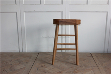 vintage style pictures of solid wooden bar stool tops