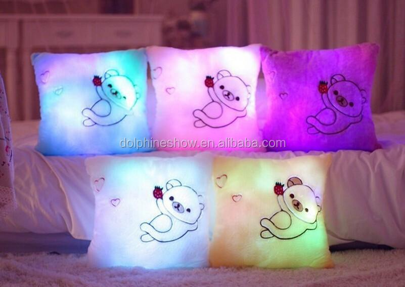 Светящиеся подушки своими руками