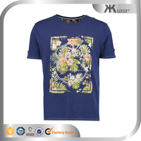 Youth clothes slim fit tee shirt printing for man, men's made in China t shirt printing
