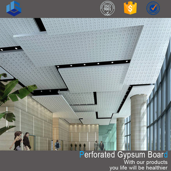 Sound absorbing perforated gypsum board price in india