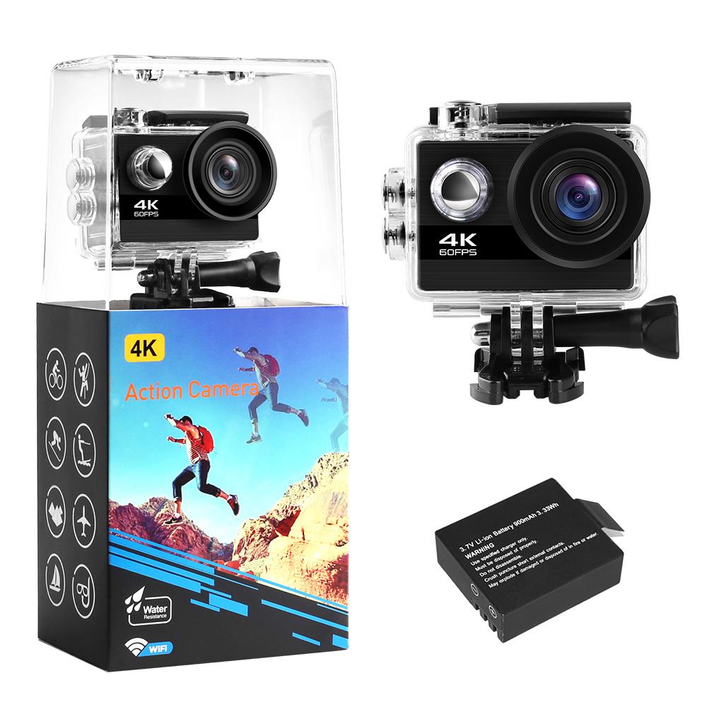 Nouveau style mini Sport DV Caméra Vidéo Wifi Caméra D'action Étanche 4 K 60fps pour Youtube Sous-marins Appareil Photo Numérique - ANKUX Tech Co., Ltd