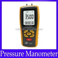 Digital Manometer Differential Pressure Meter Gauge GM520
