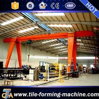 Using in factory single girder electric crane made in Henan by bello lin