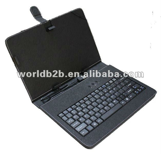 10 inch Universal Keyboard Leather Case for 10inch MID,Tablet PC with Stand
