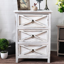 2017 Low price 3 drawers wooden storage cabinet/furniture cabinet