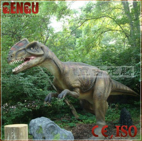 Amusement Park Outdoor Playground Life Size Animatronic Dinosaur