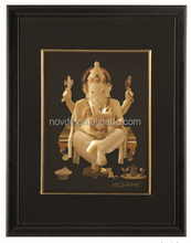 3D gold foil hindu india god painting with great price