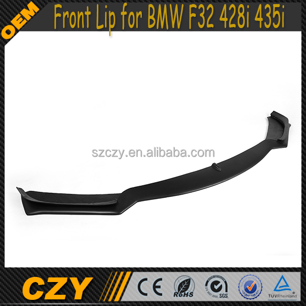 Front Bumper Position FRP F32 Front Spoiler Lip for BMW F32 428i 435i