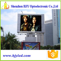 huge LED displays P16 outdoor rgb led sign display