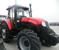 YTO 1204 120hp 4x4 wheel-style farm tractor for hot sale YTO-X1204